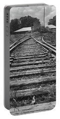 Portable Battery Charger featuring the photograph Tracks by Mike McGlothlen