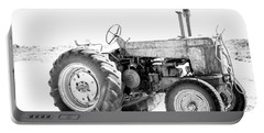 Portable Battery Charger featuring the photograph Tractor by Silvia Bruno