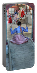 Traditional Clothes In Korea Portable Battery Charger