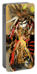Traditional Native American Dancer Portable Battery Charger