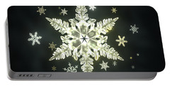 Traditional Sunlight Snowflakes Portable Battery Charger