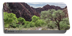 Trail Into Phantom Ranch, Grand Canyon Portable Battery Charger