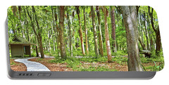 Trail Through National Forest Portable Battery Charger