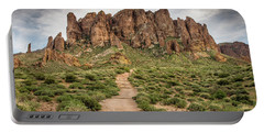 Trail To Cliffs Portable Battery Charger by Greg Nyquist