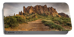 Trail To Superstitions 2 Portable Battery Charger by Greg Nyquist