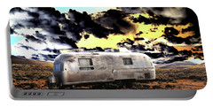 Portable Battery Charger featuring the photograph Trailer by Jim and Emily Bush