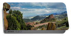 Trails At Red Rocks Portable Battery Charger