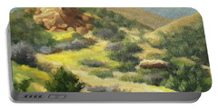 Trails Of Vasquez Canyon Portable Battery Charger