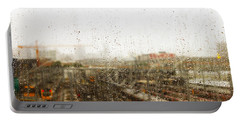 Train In The Rain Portable Battery Charger