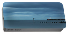 Tranquil Aberdeen Beach _ Pano Portable Battery Charger