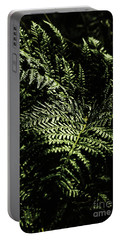 Tranquil Botanical Ferns Portable Battery Charger