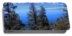 Tranquil Lake Tahoe Portable Battery Charger