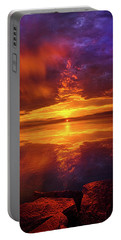 Tranquil Oasis Portable Battery Charger by Phil Koch