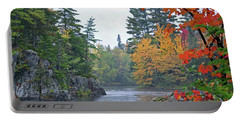 Portable Battery Charger featuring the photograph Autumn Tranquility by Glenn Gordon