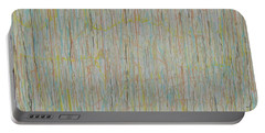 Portable Battery Charger featuring the painting Tranquility by Jacqueline Athmann