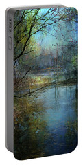 Tranquility Portable Battery Charger by John Rivera