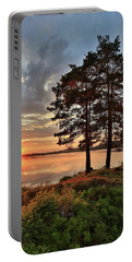 Portable Battery Charger featuring the photograph Tranquility by Rose-Marie Karlsen