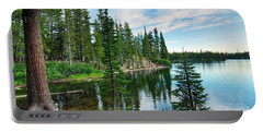 Tranquility - Twin Lakes In Mammoth Lakes California Portable Battery Charger