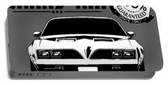 Trans Am Thrills Portable Battery Charger
