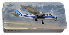 Trans Anguilla Airways Britten-norman Bn-2b-21 Islander 114 Portable Battery Charger