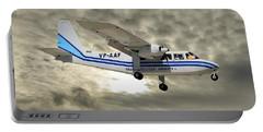 Trans Anguilla Airways Britten-norman Bn-2b-21 Islander 115 Portable Battery Charger