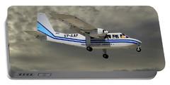Trans Anguilla Airways Britten-norman Bn-2b-21 Islander 116 Portable Battery Charger