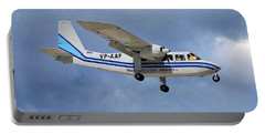 Trans Anguilla Airways Britten-norman Bn-2b-21 Islander 117 Portable Battery Charger
