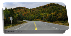 Trans-canada Highway Through Northern Portable Battery Charger