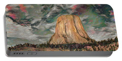 Transcendental Devils Tower Portable Battery Charger