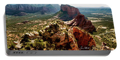 Transept Mountains 04-089 Portable Battery Charger by Scott McAllister