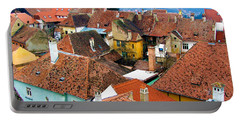 Transylvania Rooftops Portable Battery Charger