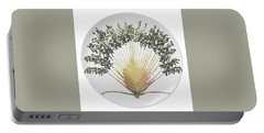 Travelers Palm Plate Portable Battery Charger by R  Allen Swezey
