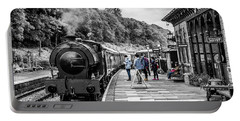 Portable Battery Charger featuring the photograph Travellers In Time by Nick Bywater