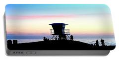 Treasure Coast Florida Sunrise Seascape Paradise 447c Portable Battery Charger
