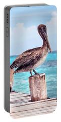 Treasure Coast Pelican Pier Seascape C1 Portable Battery Charger