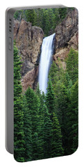 Portable Battery Charger featuring the photograph Treasure Falls by David Chandler