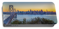 Treasure Island Sunset Portable Battery Charger by JR Photography