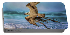 Treasures For The Nest Osprey Art Portable Battery Charger