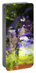 Tree Avenue Lavender Lilac Green Portable Battery Charger