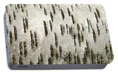 Portable Battery Charger featuring the photograph Tree Bark Abstract by Christina Rollo