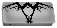 Tree Bird I Bw Portable Battery Charger