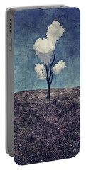 Tree Clouds 01d2 Portable Battery Charger