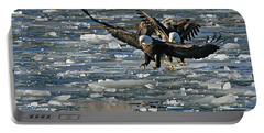Tree Eagles On Ice Portable Battery Charger