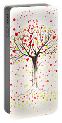 Tree Explosion Portable Battery Charger by Stefanie Forck