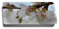 Dogwood Branch Pink Portable Battery Charger