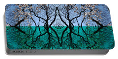 Tree Gate Between Water And Sky Worlds Portable Battery Charger