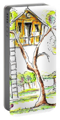 Tree House  Portable Battery Charger