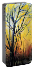 Tree In Thicket Portable Battery Charger by Jodie Marie Anne Richardson Traugott          aka jm-ART