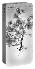 Tree In Winter Portable Battery Charger
