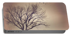 Portable Battery Charger featuring the photograph Tree by Juli Scalzi
